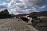 By the River Vtlava Prague