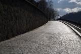 Cobbled Street Prague - Horizontal