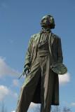 Statue of Josef Mánes, Prague
