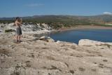 Chris Photographing Akamas Peninsular