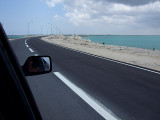 Driving in Middle Caicos