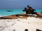 Rusting Barges on the Beach Middle Caicos 08