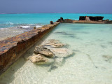 Rusting Barges on the Beach Middle Caicos 12