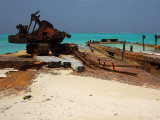 Rusting Barges on the Beach Middle Caicos 18