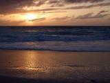 Sunset from Grace Bay Beach