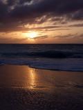 Sunset from Grace Bay Beach 02