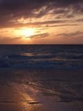 Sunset from Grace Bay Beach 03