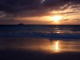 Sunset from Grace Bay Beach 04