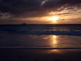 Sunset from Grace Bay Beach 06