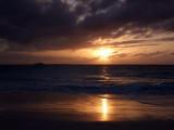 Sunset from Grace Bay Beach 07