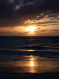 Sunset from Grace Bay Beach 08
