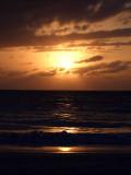 Sunset from Grace Bay Beach 09
