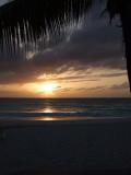 Sunset from Grace Bay Beach 10