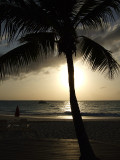 Sunset from Grace Bay Beach 11