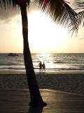 Sunset from Grace Bay Beach 12