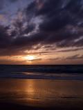Sunset from Grace Bay Beach 14