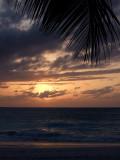 Sunset from Grace Bay Beach 16