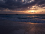 Sunset from Grace Bay Beach 17