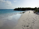 Beach on Little Water Cay