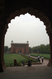 Back to the Entrance - Red Fort