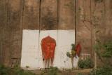 Hanuman on Wall