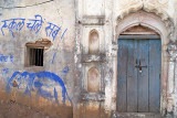 House with a Blue Door Orchha