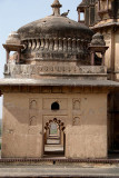 On top of the Chhatris Orchha