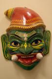 Ramanyana Mask Saaket Museum Orchha 01