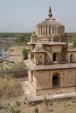 Chhatris Orchha 06