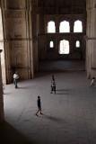 Inside Chaturbhaj Temple