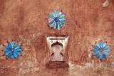 Blue Flower Decoration Jehangir Mahal