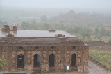 Camel Stables in the Rain Orchha