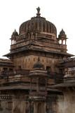 Corner of Jehangir Mahal Orchha 03