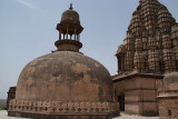 On top of Chaturbhuj Temple