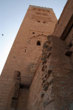Looking up at Koutoubia