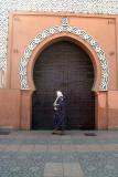 Walking Past a Door