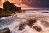 pedras da praia mole