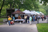 Farmers Market Day - Conservatory Gardens