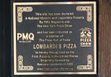 Lombardi's Pizza Marker