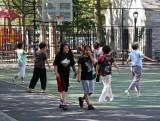Walking by a Tai Chi Class