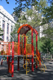 Children's Play Gym with NYC Courthouse & Jail