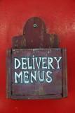 Restaurant Delivery Menus Box