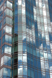 Glass Tower with Reflections