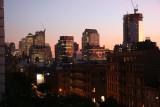 Sunset - Downtown Manhattan