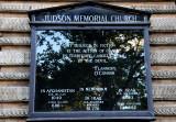 Judson Memorial Church Bulletin Board