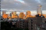 Sunrise - Downtown Financial Center in Manhattan