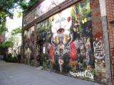 Sebastian Wahl's Street Wall Mural
