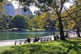 Central Park Conservatory Pond, Alice in Wonderland & Area