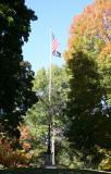 Flag Pole - Central Park Maple Hill