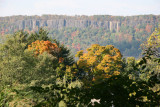 NJ Palisades from Road to Wave Hill Gardens